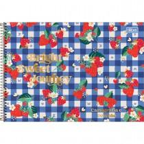 Imagem - Caderno de Cartografia e Desenho Espiral Capa Dura Little Garden 80 Folhas (Pacote com 4 unidades) - Sortido...