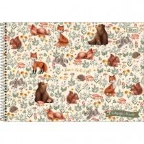 Imagem - Caderno de Cartografia e Desenho Espiral Capa Dura Loveland 80 Folhas (Pacote com 4 unidades) - Sortido...