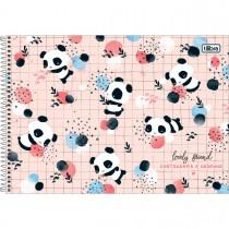 Imagem - Caderno de Cartografia e Desenho Espiral Capa Dura Lovely Friends 80 Folhas (Pacote com 4 unidades) - Sortido...