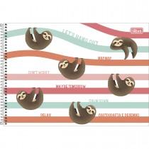 Imagem - Caderno de Cartografia e Desenho Espiral Capa Dura Nap Nap 80 Folhas (Pacote com 4 unidades) - Sortido...