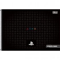 Imagem - Caderno de Cartografia e Desenho Espiral Capa Dura PlayStation 80 Folhas (Pacote com 4 unidades) - Sortido...