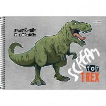 Imagem - Caderno de Cartografia e Desenho Espiral Capa Dura Raptor 80 Folhas (Pacote com 4 unidades) - Sortido...