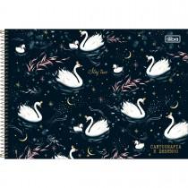 Imagem - Caderno de Cartografia e Desenho Espiral Capa Dura Royal 80 Folhas (Pacote com 4 unidades) - Sortido