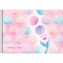 Imagem - Caderno de Cartografia e Desenho Espiral Capa Dura Wonder 80 Folhas (Pacote com 4 unidades) - Sortido...