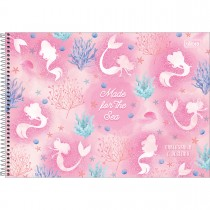 Imagem - Caderno de Cartografia e Desenho Espiral Capa Dura Wonder 80 Folhas - Made for the Sea - Sortido