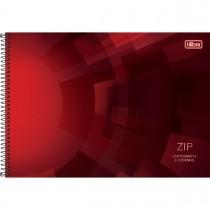 Imagem - Caderno de Cartografia e Desenho Espiral Capa Dura Zip 96 Folhas (Pacote com 4 unidades) - Sortido