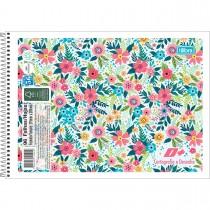 Imagem - Caderno de Cartografia e Desenho Espiral Capa Flexível D+ 96 Folhas (Pacote com 5 unidades) - Sortido...