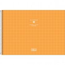 Imagem - Caderno de Cartografia e Desenho Milimetrado Espiral Capa Dura Académie Feminino 80 Folhas (Pacote com 4 unidades) - Sortido...