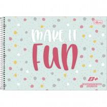Imagem - Caderno de Cartografia e Desenho Milimetrado Espiral Capa Dura D+ Feminino 96 Folhas (Pacote com 4 unidades) - Sortido...