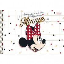 Imagem - Caderno de Cartografia e Desenho Milimetrado Espiral Capa Dura Minnie 80 Folhas (Pacote com 4 unidades) - Sortido...