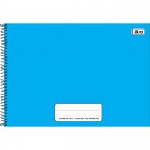 Imagem - Caderno de Cartografia e Desenho Milimetrado Espiral Capa Dura Pepper 80 Folhas (Pacote com 4 unidades) - Sortido...