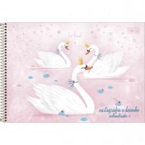 Imagem - Caderno de Cartografia e Desenho Milimetrado Espiral Capa Dura Royal 80 Folhas (Pacote com 4 unidades) - Sortido...
