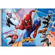 Imagem - Caderno de Cartografia e Desenho Milimetrado Espiral Capa Dura Spider-Man 80 Folhas (Pacote com 4 unidades) - Sortido...