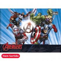 Imagem - Caderno de Desenho Brochura Capa Dura Avengers 40 Folhas (Pacote com 15 unidades)