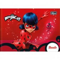 Imagem - Caderno de Desenho Brochura Capa Dura Miraculous: Ladybug 40 Folhas (Pacote com 5 unidades) - Sortido...