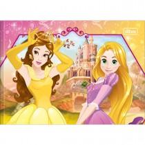 Imagem - Caderno de Desenho Brochura Capa Dura Princesas 40 Folhas (Pacote com 5 unidades) - Sortido