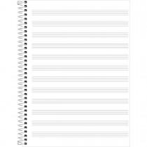 Imagem - Caderno de Música Espiral Capa Dura Universitário Académie 96 Folhas - Sortido