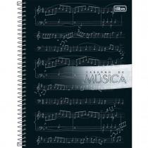 Imagem - Caderno de Música Espiral Capa Dura Universitário Tilibra 80 Folhas (Pacote com 5 unidades) - Sortido...
