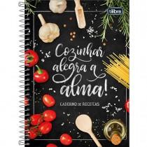 Imagem - Caderno de Receitas Espiral Capa Dura 77 Folhas