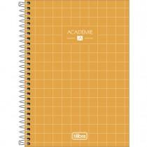 Imagem - Caderno Espiral Capa Dura 1/4 Académie 80 Folhas (Pacote com 4 unidades) - Sortido