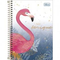 Imagem - Caderno Espiral Capa Dura 1/4 Aloha 80 Folhas (Pacote com 4 unidades) - Sortido