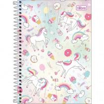 Imagem - Caderno Espiral Capa Dura 1/4 Blink 80 Folhas (Pacote com 4 unidades) - Sortido