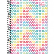 Imagem - Caderno Espiral Capa Dura 1/4 D+ 200 Folhas - Sortido (Pacote com 4 unidades)