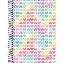 Imagem - Caderno Espiral Capa Dura 1/4 D+ 96 Folhas - Sortido (Pacote com 4 unidades)