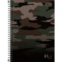 Imagem - Caderno Espiral Capa Dura 1/4 Hide 80 Folhas (Pacote com 4 unidades) - Sortido