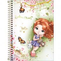 Imagem - Caderno Espiral Capa Dura 1/4 Jolie 80 Folhas (Pacote com 4 unidades) - Sortido