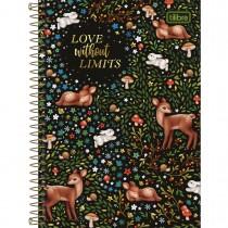 Imagem - Caderno Espiral Capa Dura 1/4 Loveland 80 Folhas (Pacote com 4 unidades) - Sortido
