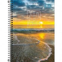Imagem - Caderno Espiral Capa Dura 1/4 No Stress 80 Folhas - Sortido (Pacote com 4 unidades)