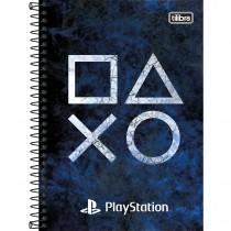 Imagem - Caderno Espiral Capa Dura 1/4 PlayStation 80 Folhas (Pacote com 4 unidades) - Sortido