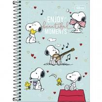 Imagem - Caderno Espiral Capa Dura 1/4 Snoopy 80 Folhas (Pacote com 4 unidades) - Sortido