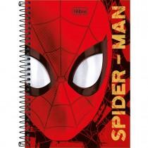 Imagem - Caderno Espiral Capa Dura 1/4 Spider-Man 80 Folhas (Pacote com 4 unidades) - Sortido
