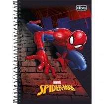 Imagem - Caderno Espiral Capa Dura 1/4 Spider-Man 80 Folhas - Sortido (Pacote com 4 unidades)