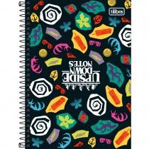 Imagem - Caderno Espiral Capa Dura 1/4 Stranger Things 80 Folhas (Pacote com 4 unidades) - Sortido