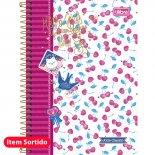 Imagem - Caderno Espiral Capa Dura 1/4 Jolie Classic - 96 Folhas - Sortido (Pacote com 5 unidades)