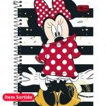 Imagem - Caderno Espiral Capa Dura 1/4 Minnie 96 Folhas - Sortido (Pacote com 5 unidades)