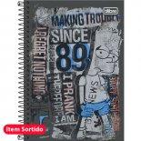 Imagem - Caderno Espiral Capa Dura 1/4 Simpsons 96 Folhas - Sortido (Pacote com 5 unidades)