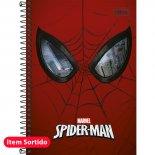 Imagem - Caderno Espiral Capa Dura 1/4 Spider-Man 96 Folhas - Sortido (Pacote com 5 unidades)