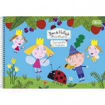 Imagem - Caderno Espiral Capa Dura Cartografia e Desenho Ben & Holly 80 Folhas - Sortido (Pacote com 4 unidades)...
