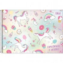 Imagem - Caderno Espiral Capa Dura Cartografia e Desenho Blink 80 Folhas (Pacote com 4 unidades) - Sortido