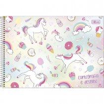 Imagem - Caderno Espiral Capa Dura Cartografia e Desenho Blink 80 Folhas - Sortido (Pacote com 4 unidades)