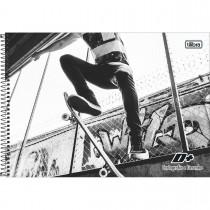 Imagem - Caderno Espiral Capa Dura Cartografia e Desenho D+ Masculino 96 Folhas - Sortido (Pacote com 4 unidades)...