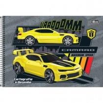 Imagem - Caderno Espiral Capa Dura Cartografia e Desenho GM Kids 80 Folhas - Sortido (Pacote com 4 unidades)