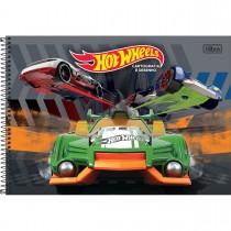 Imagem - Caderno Espiral Capa Dura Cartografia e Desenho Hot Wheels 96 Folhas (Pacote com 4 unidades) - Sortido...