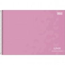 Imagem - Caderno Espiral Capa Dura Cartografia e Desenho Lunix 60 Folhas (Pacote com 4 unidades) - Sortido