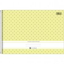 Imagem - Caderno Espiral Capa Dura Cartografia e Desenho Milimetrado Académie Feminino 80 Folhas (Pacote com 4 unidades) - Sortido...