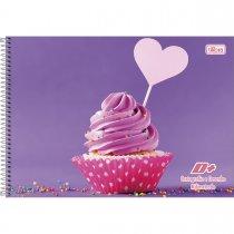 Imagem - Caderno Espiral Capa Dura Cartografia e Desenho Milimetrado D+ Feminino 96 Folhas - Sortido (Pacote com 4 unidades)...